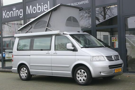 Volkswagen T5 California Comfortline, 174pk 2.5TDI – 2006 (m. 07) – Automaat – BINNENKORT