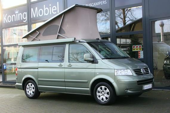 Volkswagen T5 California Comfortline, 174pk 2.5TDI – 2006 (m. 07) – Automaat