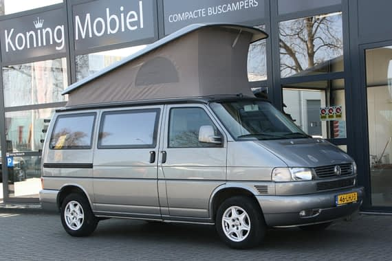 Volkswagen T4 Westfalia California Freestyle, 102pk 2.5TDI – 2003 – BINNENKORT