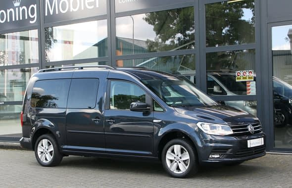Volkswagen Caddy Combi Maxi Minicamper, Euro 6, 125pk Benzine(!), DSG Automaat – 7 zitter(!) – 2018