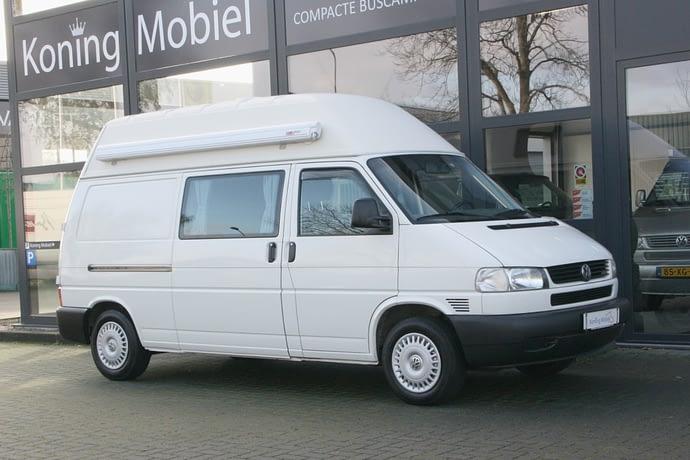 Volkswagen T4 2.5 TDI Hoogdakcamper – Groot bed –  2002