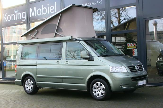 Volkswagen T5 California Comfortline, 174pk 2.5TDI – 2006 (m. 07) – Automaat – NIEUW BINNEN