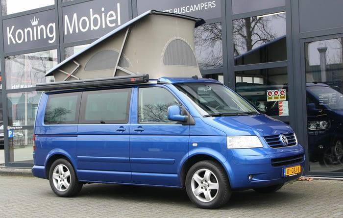 Volkswagen T5 California Comfortline, 131pk 2.5TDI – 2006 – Automaat