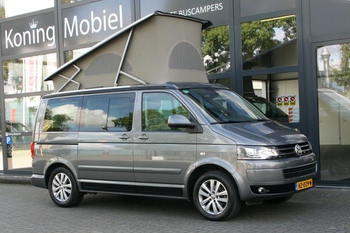 Volkswagen T5 GP California Generation, 140pk 2.0TDI – 2014 – NIEUW BINNEN