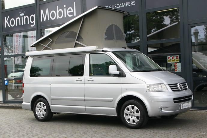 Volkswagen T5 California Comfortline, 131pk 2.5TDI – 2007 – Automaat – NIEUW BINNEN
