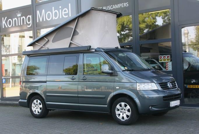 Volkswagen T5 California Comfortline, 174pk 2.5TDI – 2006 – Automaat – BINNENKORT